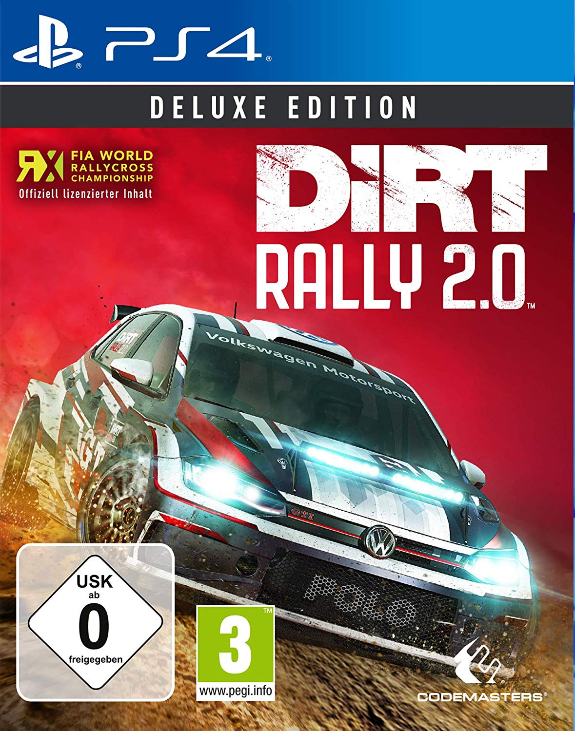 dirt rally 21.0 deluxe edition pegi ps4