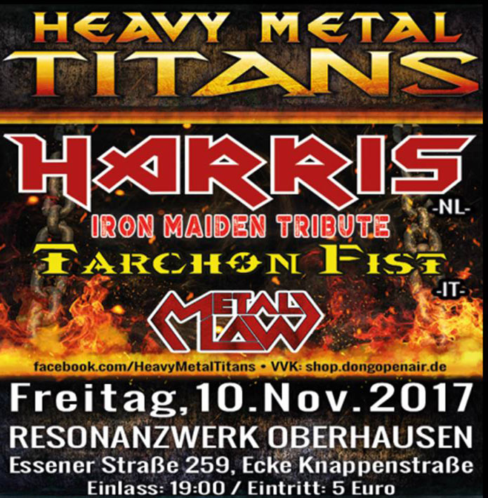 Heavy-Metal-Titans-Flyer-im-Plakatdesign