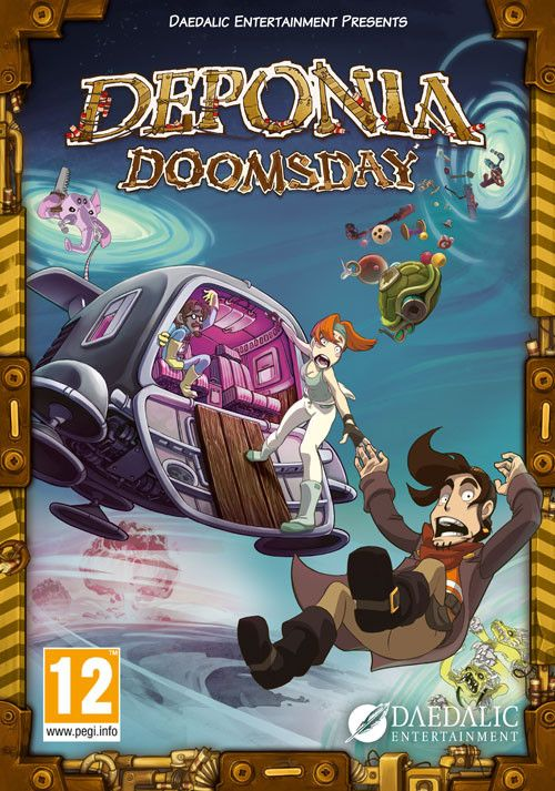 Packshot Deponia Doomsday