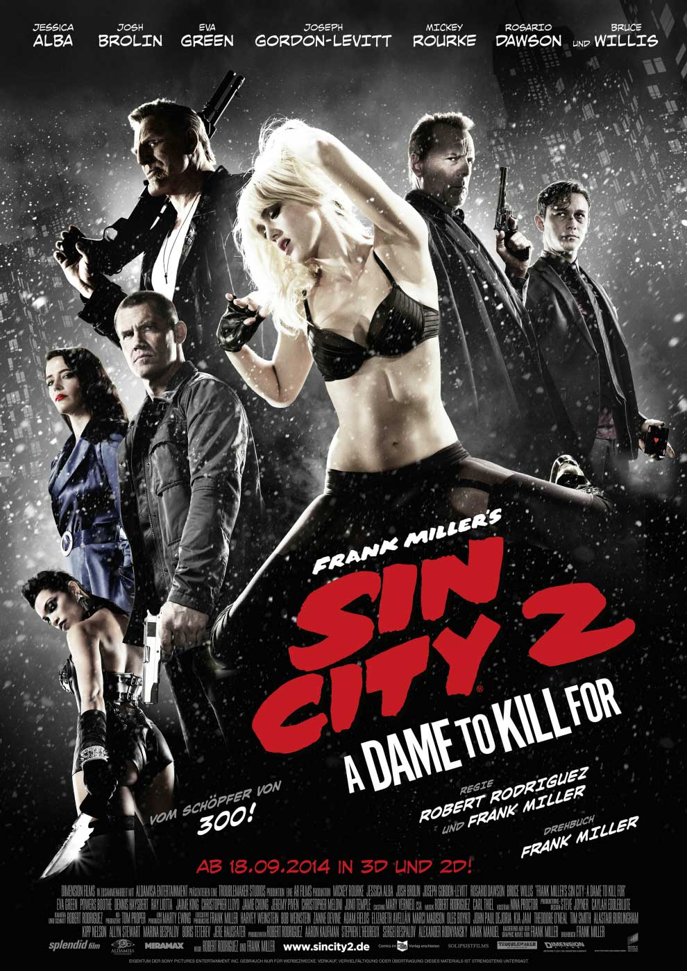 SIN CITY 2 Kinoposter RZ A3300dpi a4  1400